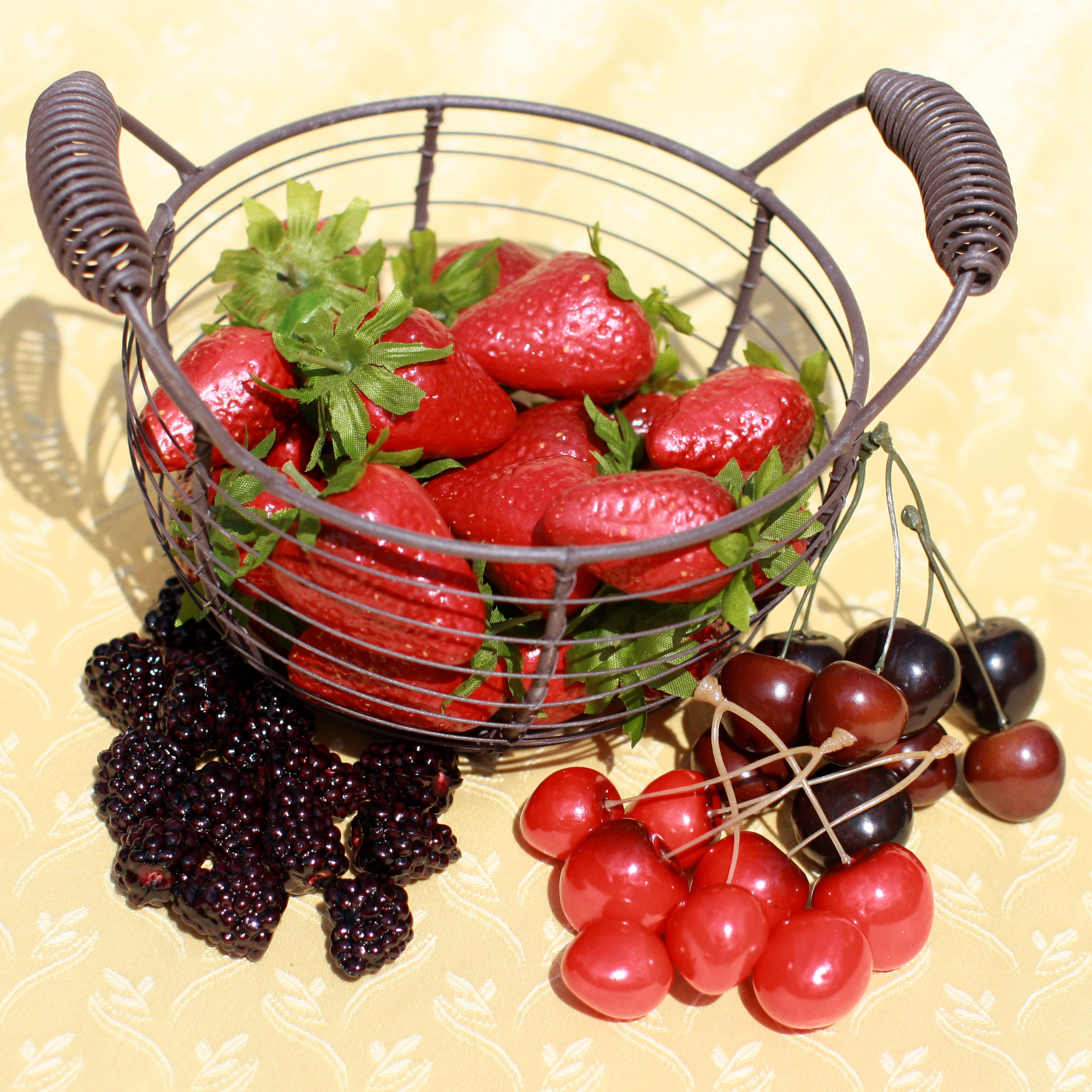 Artificial Berries & Cherries