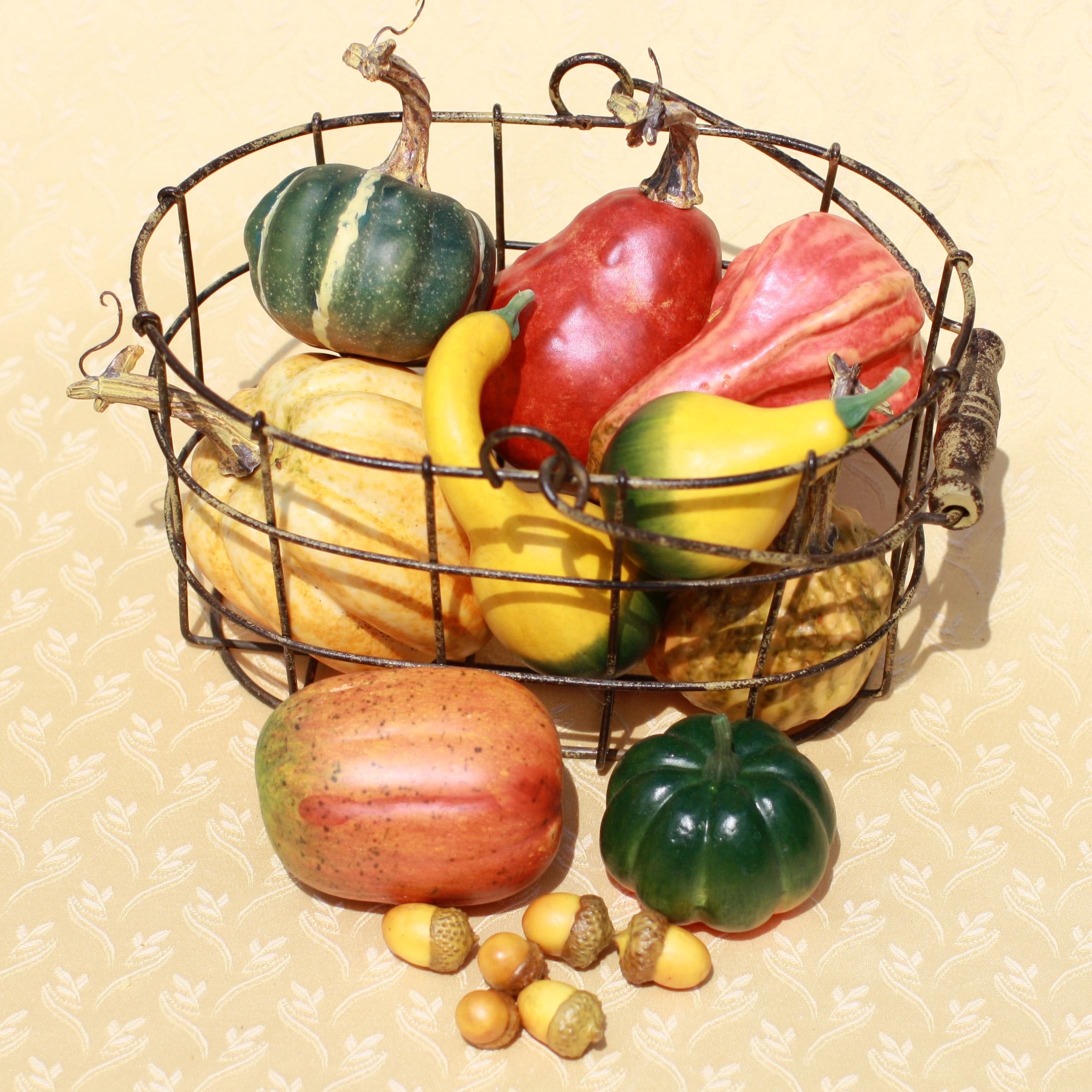 Artificial Gourds & Squash